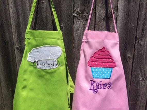 Personalized Kid Apron, kid apron, personalized apron, child apron, personalized, apron, Kids apron, personalized gift, child gift