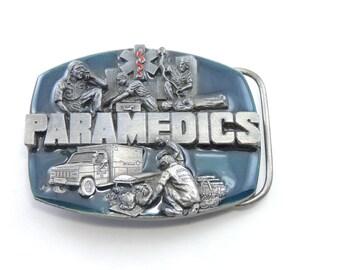VINTAGE BELT BUCKLE    Paramedics