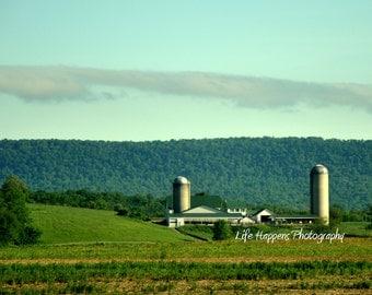 photography. art print. Pennsylvania farm.  Lancaster County. Amish Country