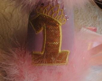 Pink Gold, Birthday Hat, Baby Birthday Hat,First Birthday Hat,Happy Birthday Hat, Pink and Gold