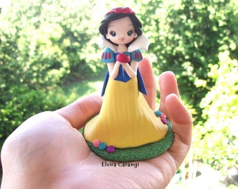 Snowhite action figure #creations #cute craft #clay #dollies #gadget #disney
