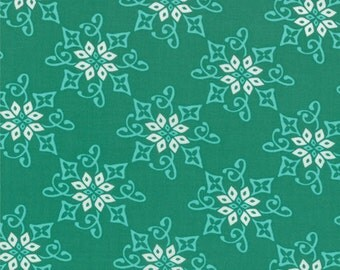 One Yard Daydreams - Reflection in Jade Green - Cotton Quilt Fabric - designed by Kate Spain for Moda Fabrics - 27174-11 (W2793)