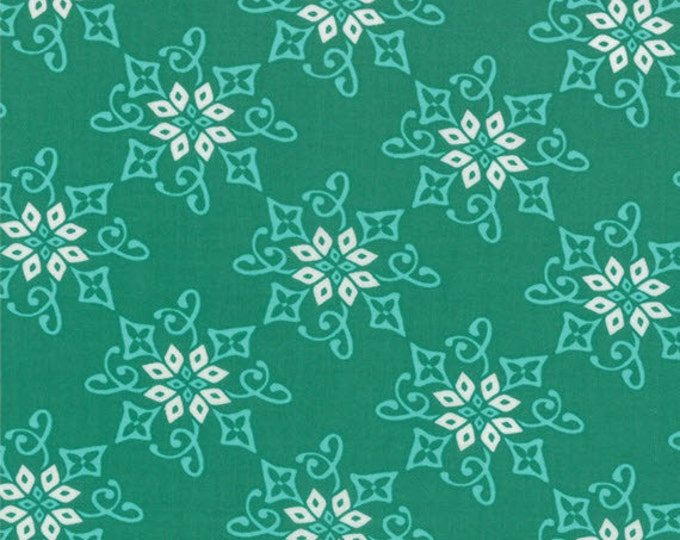 Half Yard Daydreams - Reflection in Jade Green - Cotton Quilt Fabric - designed by Kate Spain for Moda Fabrics - 27174-11 (W2793)