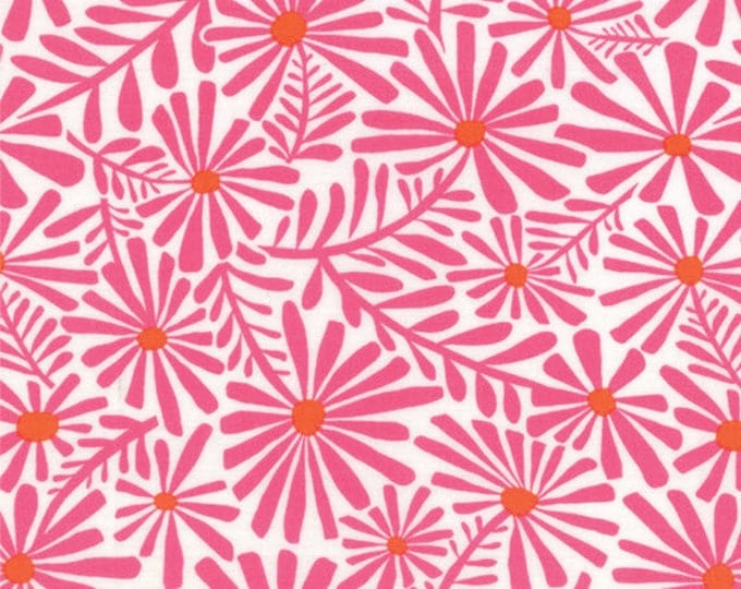 Half Yard Daydreams - Wonder in Rose Pink - Cotton Quilt Fabric - designed by Kate Spain for Moda Fabrics - 27173-13 (W2795)