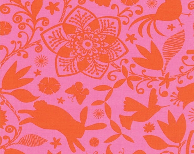 Half Yard Daydreams - Arcadia in Persimmon - Cotton Quilt Fabric - designed by Kate Spain for Moda Fabrics - 27170-33 (W2801)