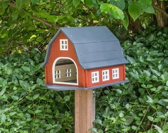 Birdhouse - Aviary - Bird feeder  *FARM HOUSE