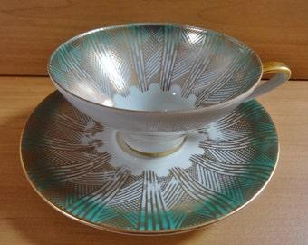 Vintage winterling bavaria art deco cup and saucer