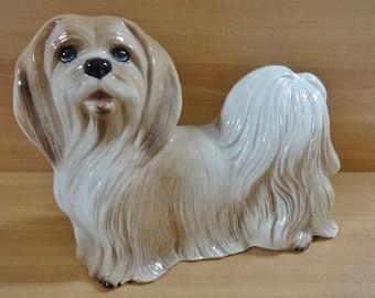Vintage Coopercraft Pekingese Dog England Ornament / Figurine
