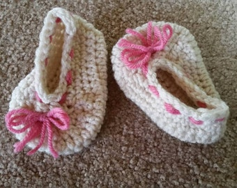 Girls 3-6 month booties