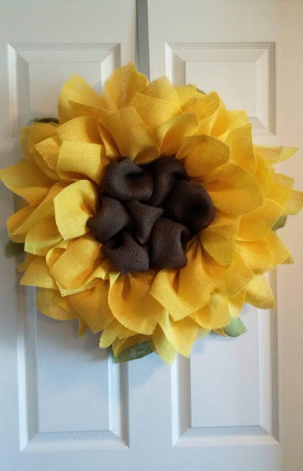 Diy Wreaths For Front Door Spring Summer