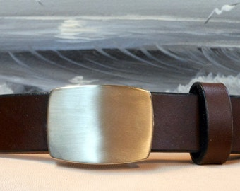 Rectangle Plaque Belt