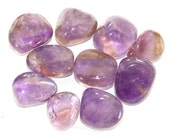 Ametrine - Natural Tumbled Gemstone Crystal -- RARE