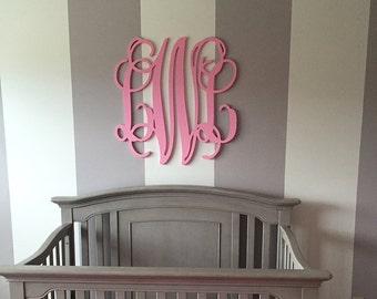 large wooden monogram letters 24 inch wooden monogram wedding guest book nursery monogram unpainted monogram unpainted wooden letters