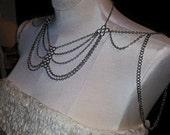 Tiered Shoulder Necklace