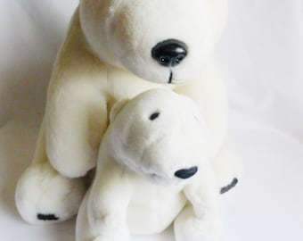 Stuffed Polar Bear Plush Toy