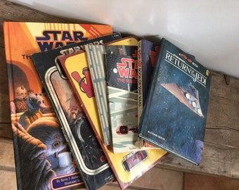 Vintage Star Wars Book Collection