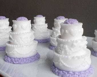 Unique Wedding Favors - Unique Bridal Shower Favors, Wedding Favor, Party Favors, Bridal Shower Favor Soap - Set of 10