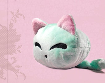 Cat plush cuddly plushie kawaii marshmallow cat cute soft toy