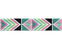 "5/8"" Fold Over Elastic Electric Aztec, FOE, Prints, Patterns"