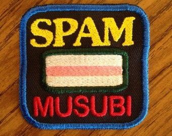 Spam musubi 3inch Sew-on patch