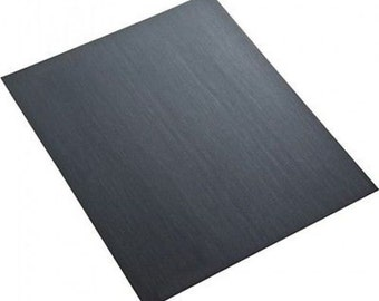 """Sand Paper 600 Grit Wet or Dry Jewelry Finishing 9"""" X 11"""" Silicon Carbide Wa 100-012"""