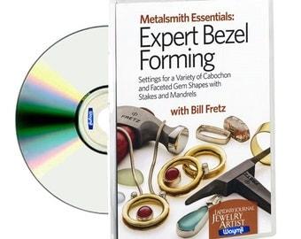Metalsmith Essentials: Expert Bezel Forming by Bill Fretz New DVD! WA 780-014