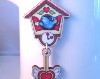 Cuckoo Clock Necklace