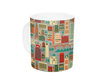 "Ceramic Coffee Mug - Allison Beilke ""My Fair Milwaukee"" - Great Gift!"
