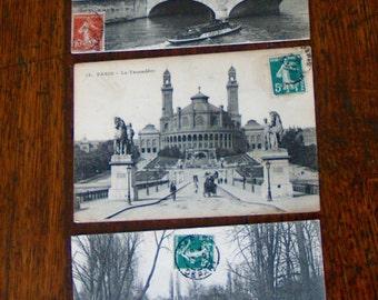 Vintage French Postcards - Paris