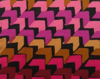 Diagonal Herringbone Ponte Knit