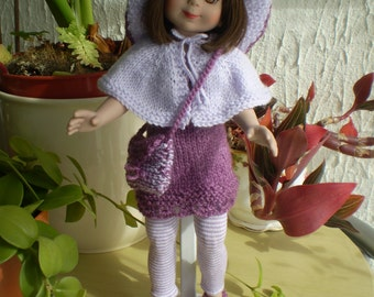 """Hand Knitted 14"""" doll clothes"""