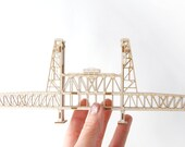 Portland Oregon's Steel Bridge - 3D Model Kit
