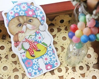 Geum the swing postcard