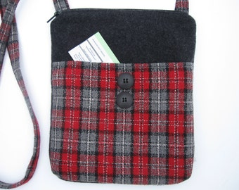hipster,purse,tote,handbag,handmade,crossbody,plaid,go green,recycle,pouch,travel bag,messenger bag,clutch,valise