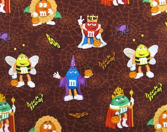 Per Yard, M&M Halloween Fabric From Springs Creative