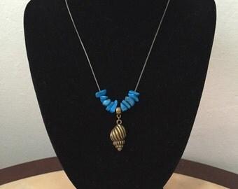 Mermaid Snail pendant