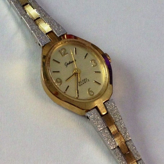 Elgin Diamond Quartz Watch
