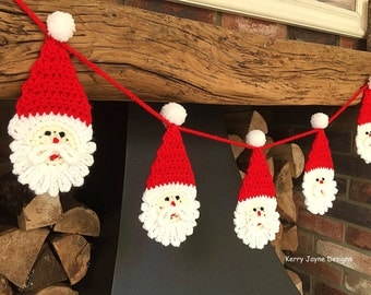 Knitting Pattern Christmas Bunting : FLAMINGO APPLIQUE CROCHET Pattern By Kerry Jayne Designs