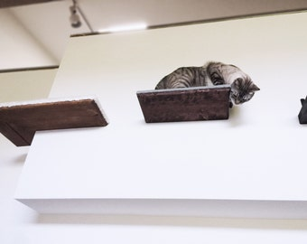 "18"" Cat Shelf with Burlap Top"