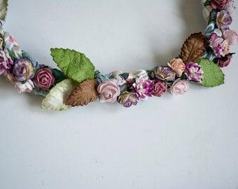 Mulberry Flower Headband