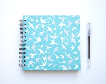 Diary swallow square