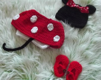 "Sweet baby set ""Minnie Mouse"""