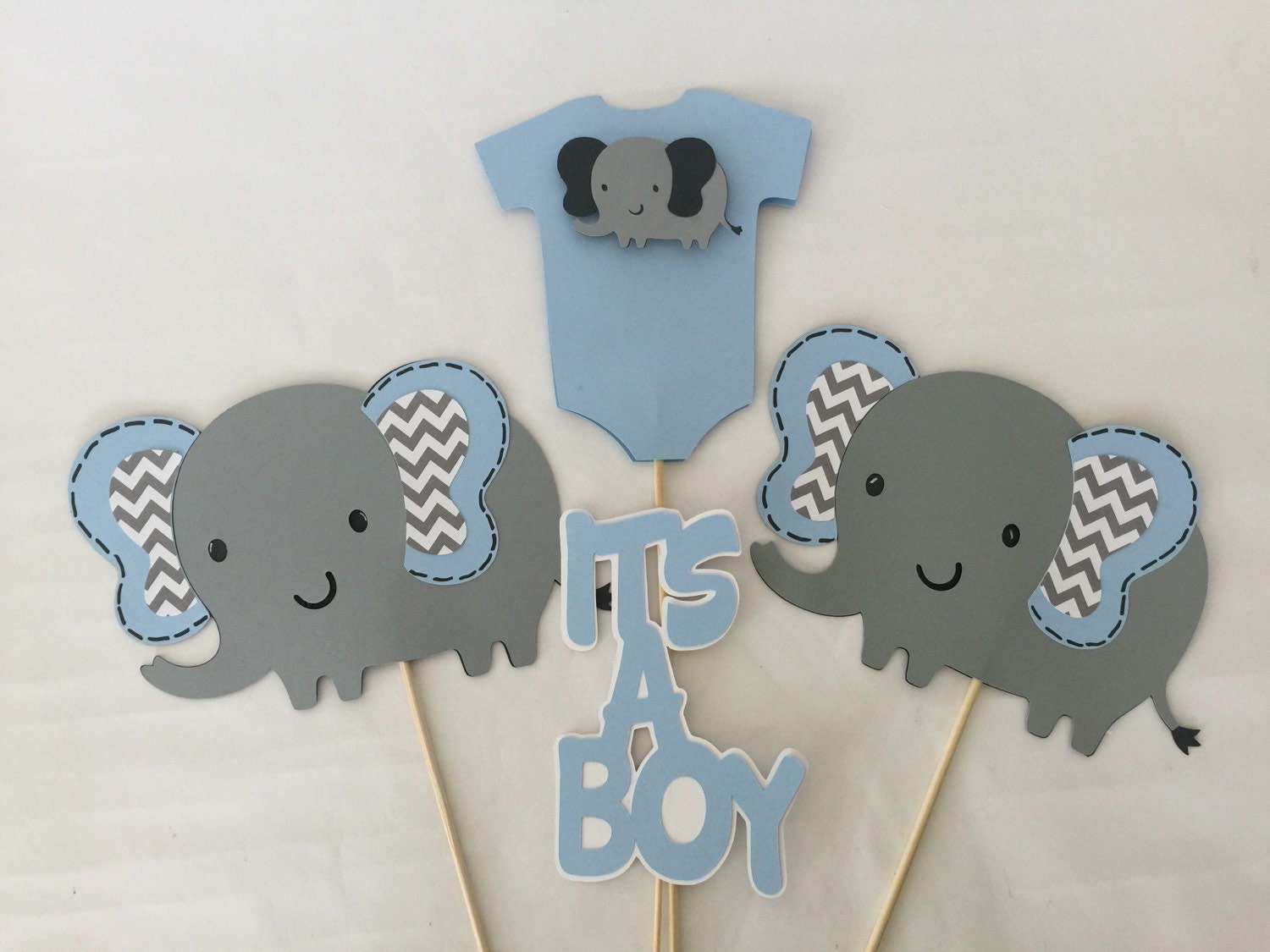 Elephant themed baby shower decorations sorepointrecords for Decoration elephant