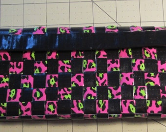 Free shipping! Duct Tape Ladies Wallet w/Double Expandable's,Free Shipping, Woven, Great Gift Idea, Mom's, Teen's, Birthdays and more.