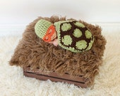 Newborn Baby Turtle Photo Prop - Newborn Baby Turtle Costume