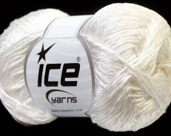 Tena from ICE yarn, 100gr - 170 m, ice yarn, cotton, polyester, summer yarn, knit, crochet, knitting yarn, crochet yarn