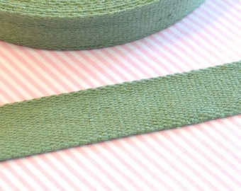 Cotton belt 3 cm bottle Green