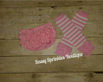 Diaper Cover and Leg Warmer Set-Ready to Ship