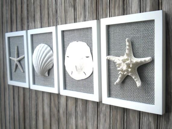 cottage chic set of beach wall art nautical decor beach