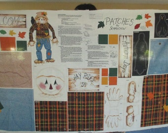 Patches The Scarecrow Pattern